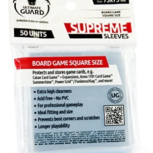 Ultimate-Guard-Supreme-Sleeves-for-Board-Game-Cards-Square-Pack-of-50-0