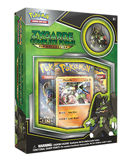 Zygarde pin collection