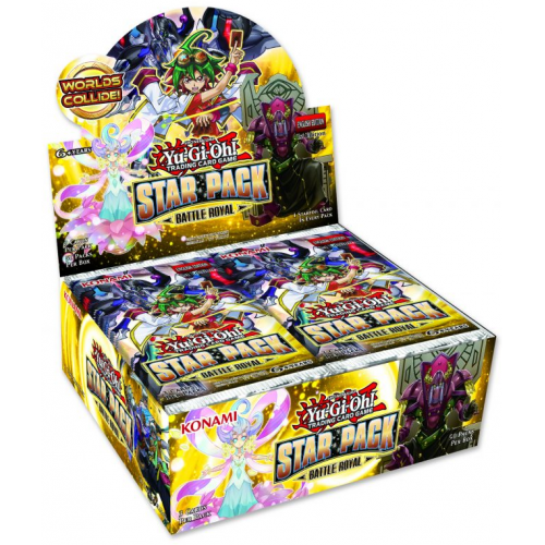 Yu-Gi-Oh! Star Pack Battle Royal Now in stock!