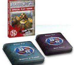 BLOOD BOWL CARDS: TEAM TITANS PACK