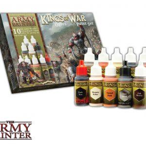 WARPAINTS: KINGS OF WAR DWARFS PAINT SET
