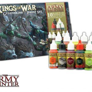 Army Painter – Kings of War Greenskins Paint Set (Model Paints)