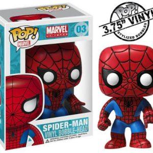 Marvel Pop Bobble Head – Spiderman Classic