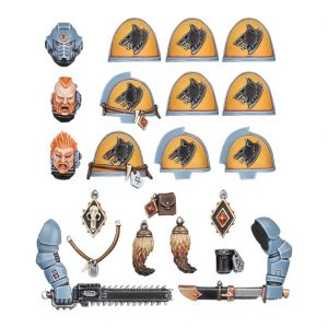 SPACE WOLVES PRIMARIS UPGRADES (Expected 28 August 2018)