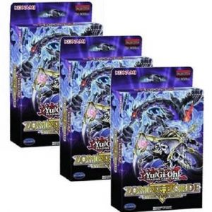 3 x Zombie Horde Structure Deck Combo (Preorder, Ships 1 November 2018)