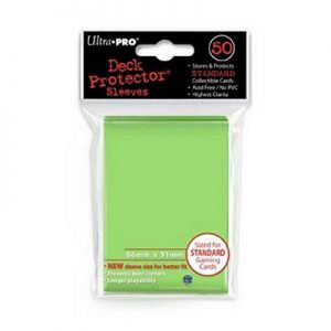 Ultra Pro Lime Green Standard Deck Protector 50 Pack