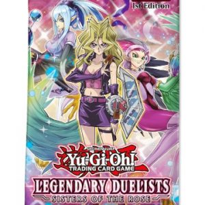Legendary Duelists: Sisters of the Rose Booster (Preorder, ships 10 January 2019)