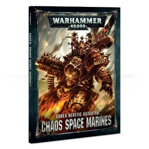 CODEX: CHAOS SPACE MARINES 2 (ENGLISH) (Preorder, Expected 3 April)