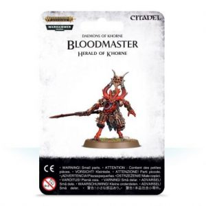 BLOODMASTER HERALD OF KHORNE (Preorder, Expected 28 March 2019)