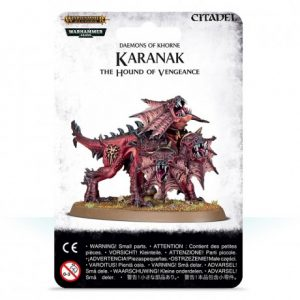 KARANAK THE HOUND OF VENGEANCE (Preorder, Expected 28 March 2019)