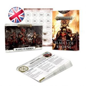 WARSCROLL CARDS: BLADES OF KHORNE (ENG) (Preorder, Expected 28 March 2019)
