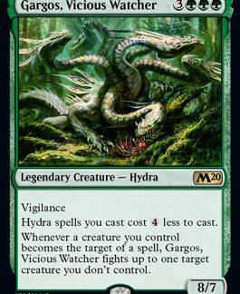 Gargos, Vicious Watcher (Prerelease Promo) (Preorder, Release date 12 July)