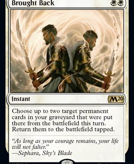 Brought Back (Prerelease Promo) (Preorder, Release date 12 July)