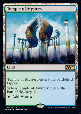Temple of Mystery (Prerelease Promo) (Preorder, Release date 12 July)