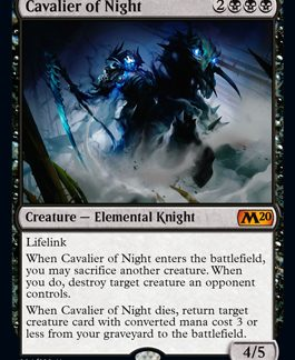Cavalier of Night (Prerelease Promo) (Preorder, Release date 12 July)