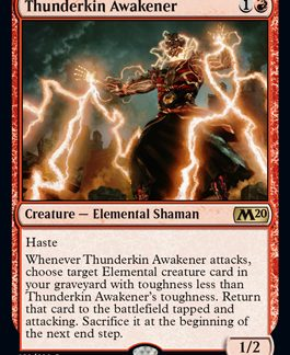 Thunderkin Awakener (Prerelease Promo) (Preorder, Release date 12 July)