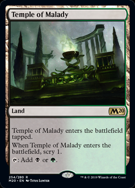 Temple of Malady (Prerelease Promo) (Preorder, Release date 12 July)