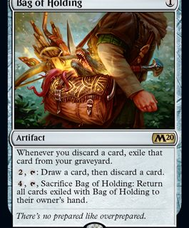 Bag of Holding (Prerelease Promo) (Preorder, Release date 12 July)