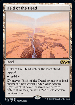 Field of the Dead (Prerelease Promo) (Preorder, Release date 12 July)