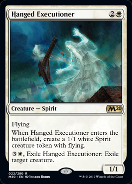 Hanged Executioner (Prerelease Promo) (Preorder, Release date 12 July)