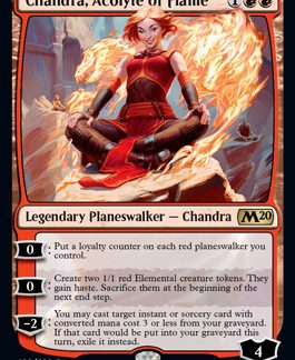 Chandra, Acolyte of Flame (Prerelease Promo) (Preorder, Release date 12 July)