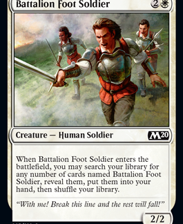 Battalion Foot Soldier (Preorder, Release date 12 July)
