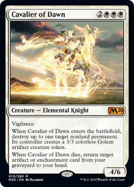Cavalier of Dawn (Foil) (Preorder, Release date 12 July)
