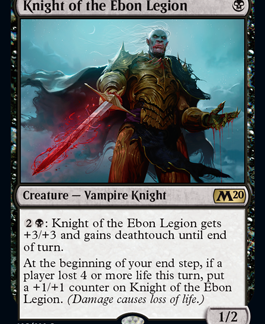 Knight of the Ebon Legion (Preorder, Release date 12 July)
