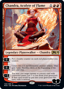 Chandra, Acolyte of Flame (Preorder, Release date 12 July)