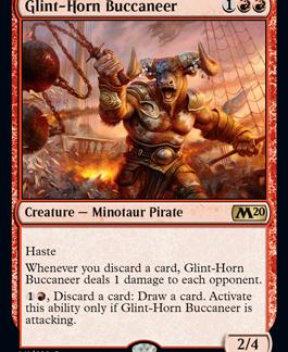 Glint-Horn Buccaneer (Foil) (Preorder, Release date 12 July)