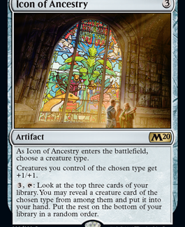 Icon of Ancestry (Foil) (Preorder, Release date 12 July)