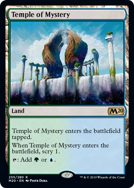 Temple of Mystery (Foil) (Preorder, Release date 12 July)