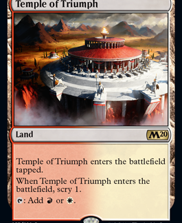 Temple of Triumph (Foil) (Preorder, Release date 12 July)