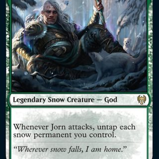 Jorn, God of Winter // Kaldring, the Rimestaff
