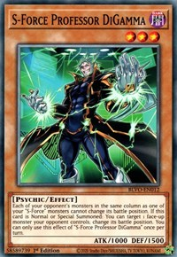 S-Force Professor DiGamma