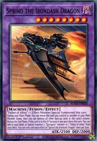 Sprind the Irondash Dragon