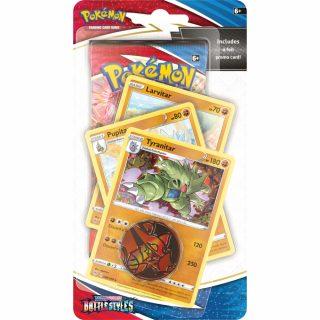 Pokemon Sword & Shield 5: Battle Styles - Premium Blister (Tyranitar)