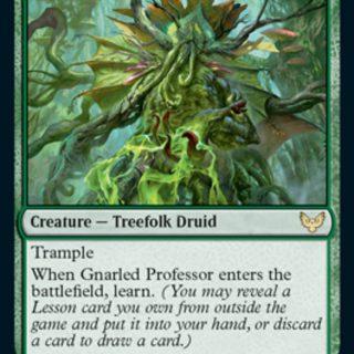 Gnarled Professor (Foil)