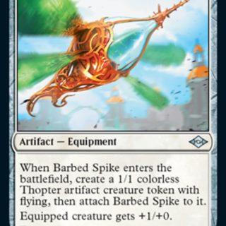 Barbed Spike Foil