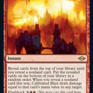 Calibrated Blast Foil