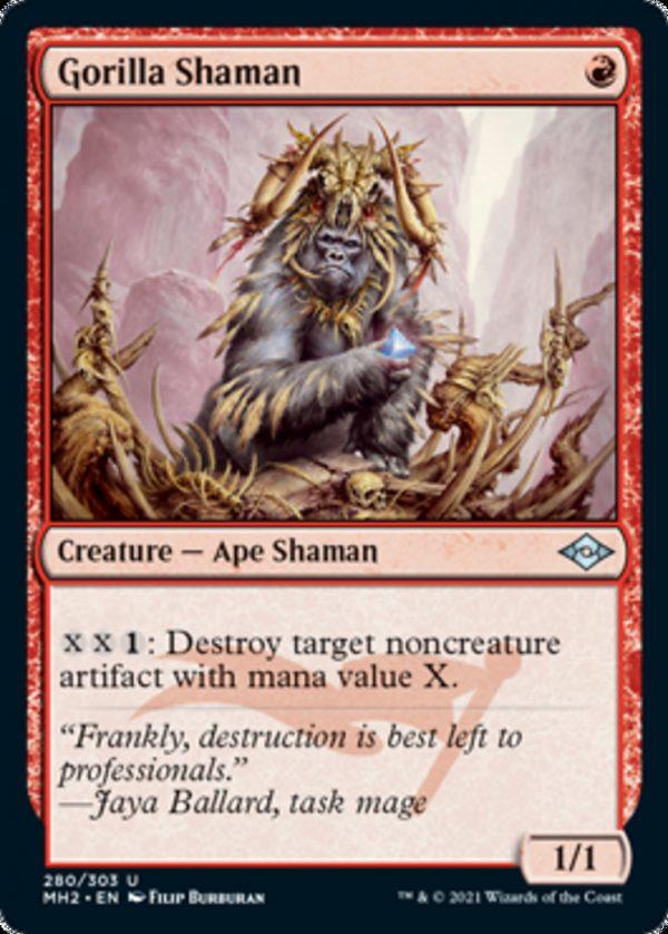 Gorilla Shaman Foil